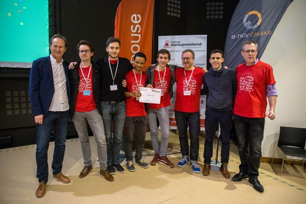 1er prix startup weekend mulhouse
