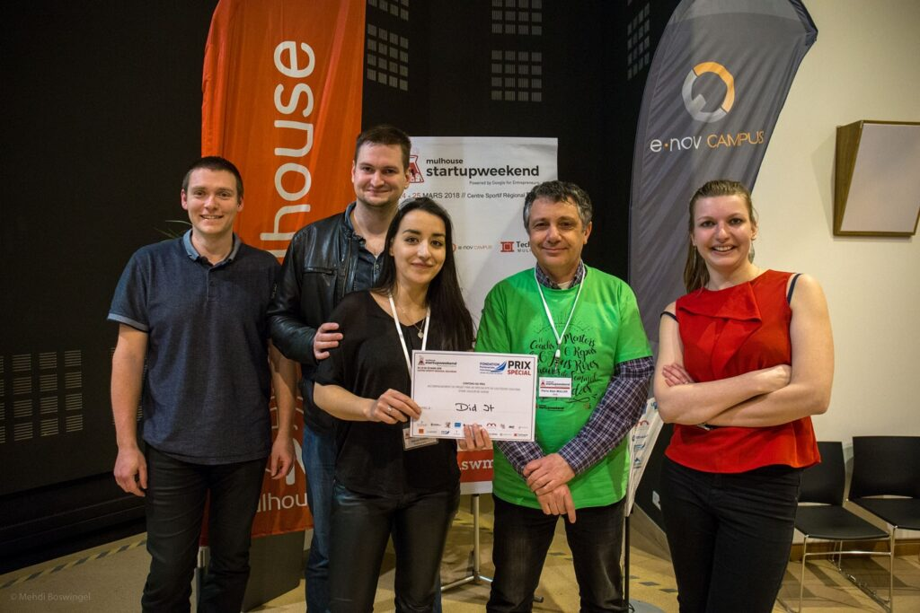 prix special startup weekend mulhouse