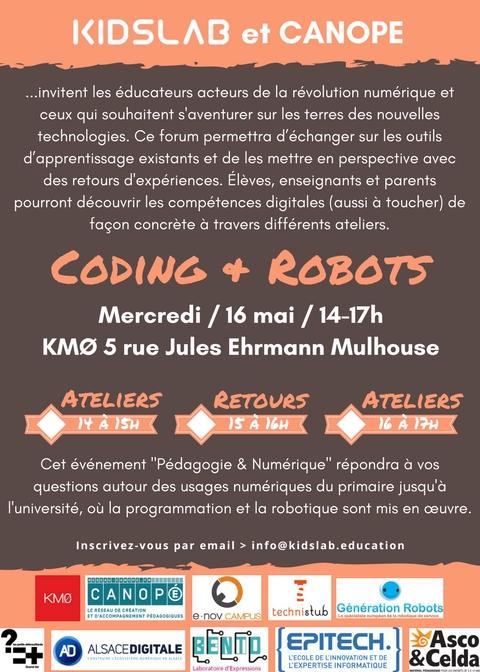 coding et robots