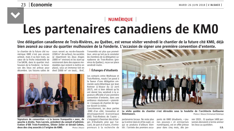 partenaires canadiens de KM0