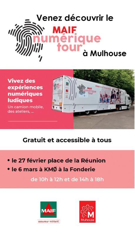 tournée maif numérique tour mulhouse 2019