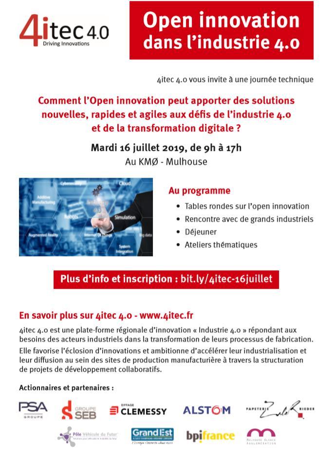 journée open innovation 4itec