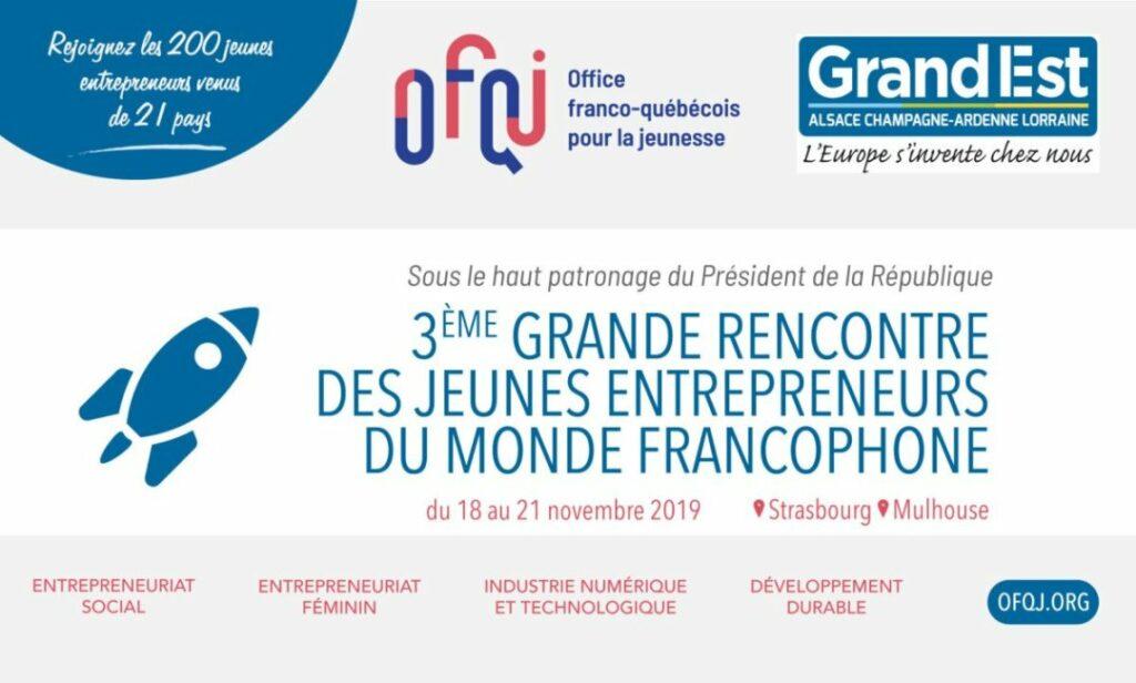 rencontre jeunes entrepreneurs francophones