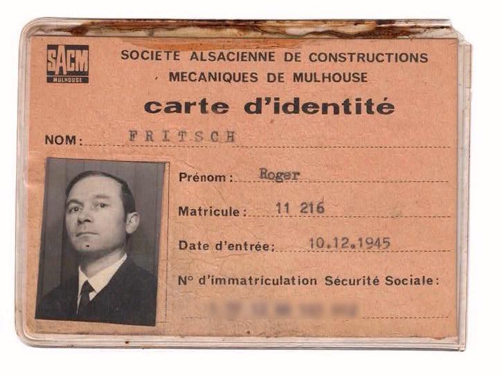 badge sacm 1945
