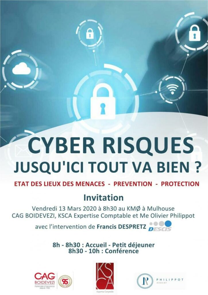 conférence cyber risques