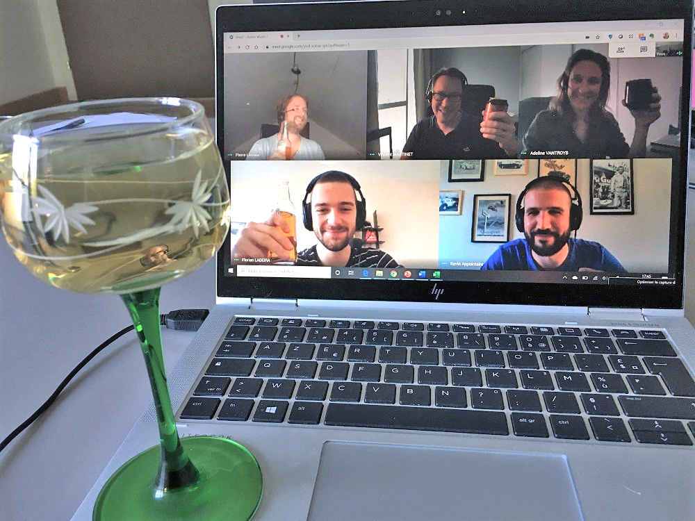 visio apero teletravail mulhouse startup
